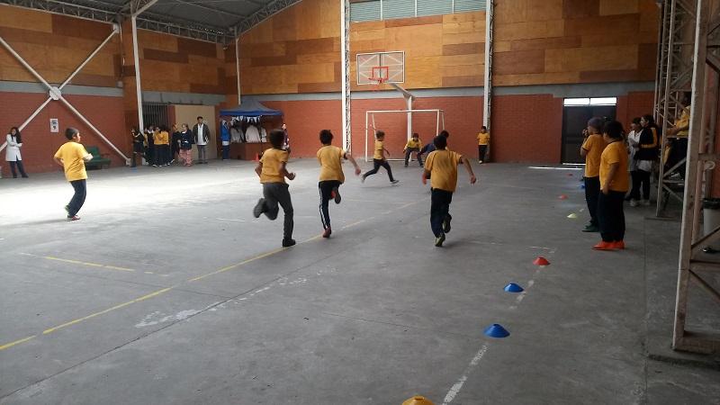 Día de la actividad física se celebró en escuela Luis Alberto Acevedo