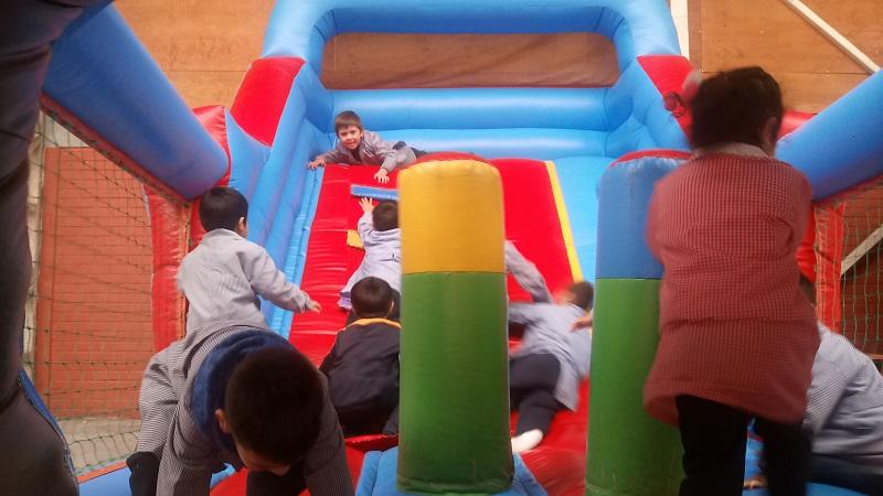 El día del niño se festeja en Escuela Luis Acevedo