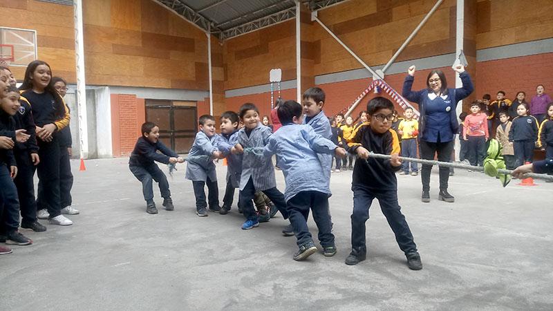 Los juegos tradicionales se tomaron la jornada del miércoles